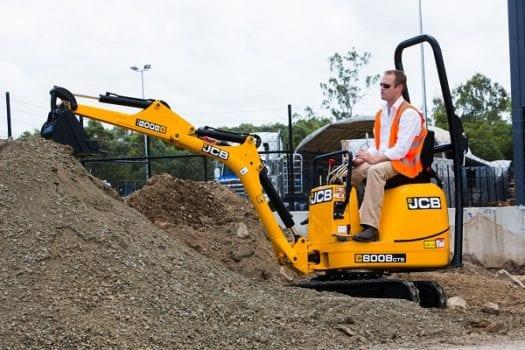 JCB 8008 Micro Mini Excavator