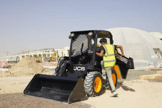 JCB Skid Steer Loader 155 1