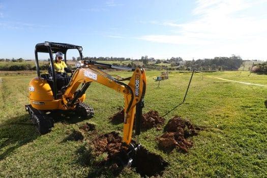 JCB 8025 Mini Excavator ZTS