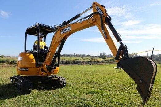 JCB 8025 Mini Excavator Zero Tail Swing