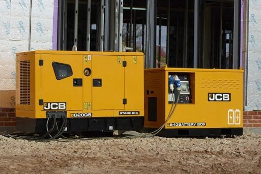 Hunter JCB 20-45 kVA Generators 2