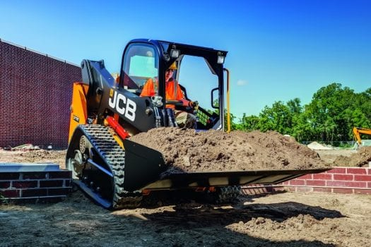 JCB 215 Skid Steer Loader 4