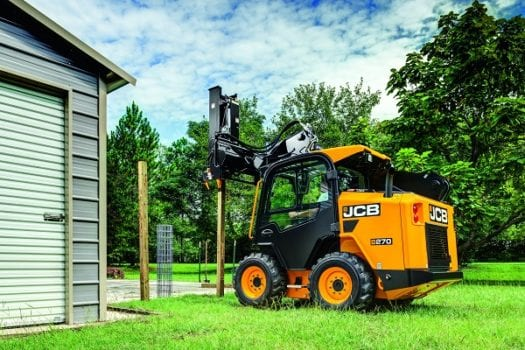 Hunter JCB 330 Skid Steer Loader SSL 1