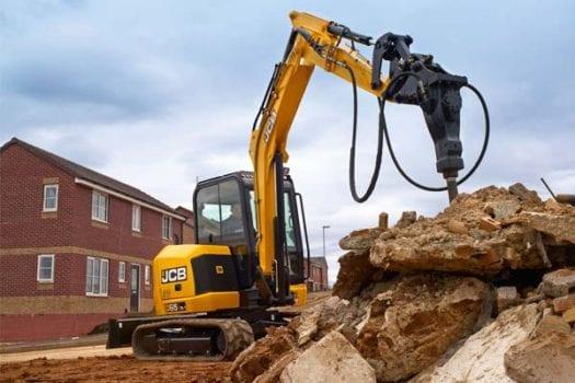 JCB 65R-1 Mini Excavator 1