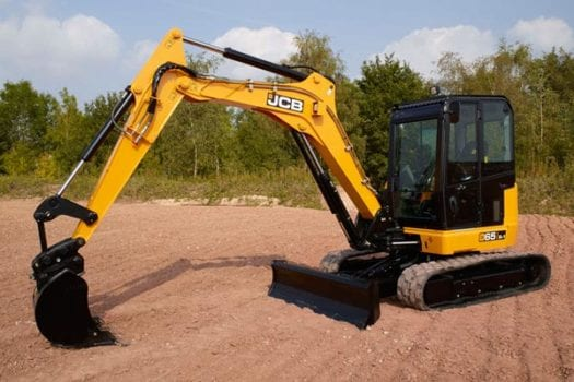 JCB 65R-1 Mini Excavator 2