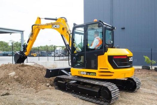 JCB 86C-1 8 tonne Mini Excavator 2