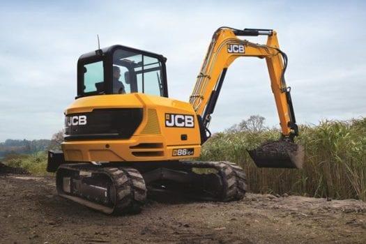 JCB 86C-1 8 tonne Mini Excavator 1