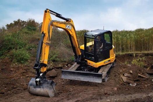 JCB 86C-1 8 tonne Mini Excavator 3
