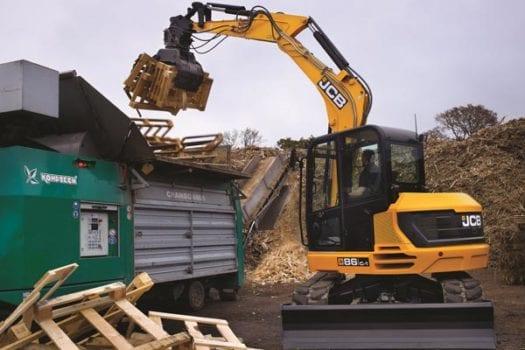 JCB 86C-1 8 tonne Mini Excavator 4