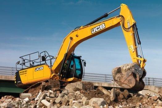 JCB JS 220LC Excavator 3