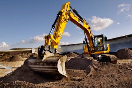JCB JS 220LC Excavator 4