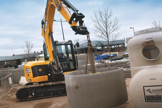 JCB 85Z-1 Mini Excavator 8 tonne