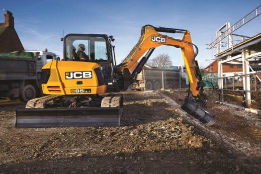 JCB 85Z-1 Mini Excavator 8 tonne 2