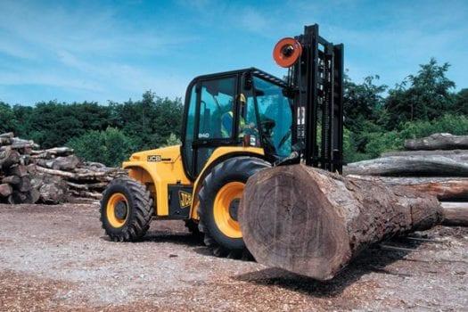 JCB Rough Terrain Forklift
