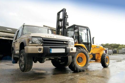 JCB Rough Terrain Forklift 3