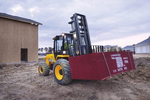 JCB Rough Terrain Forklift 4