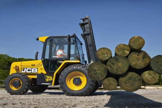 JCB Rough Terrain Forklift 2