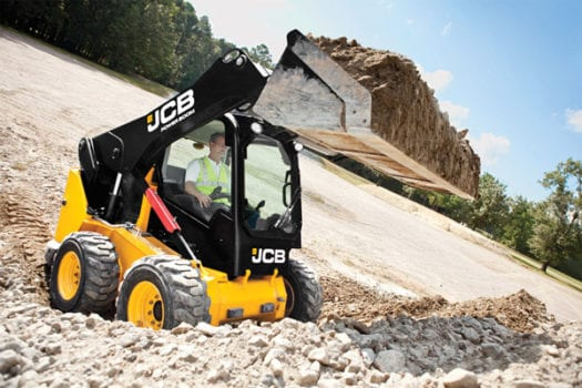 Hunter JCB 330 Skid Steer Loader SSL 2