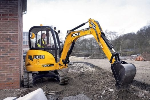JCB 8030 Zero Tail Swing Mini Excavator-3-Tonne-Excavator Newcastle