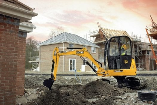 JCB 8030 ZTS Zerto Tail Swing Mini Excavator