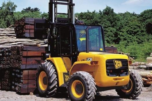 JCB Forklift 945 Rough Terrain 4