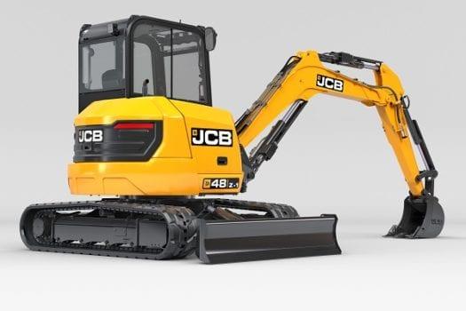 JCB 48Z-1 Compact Excavator Mini Digger 1