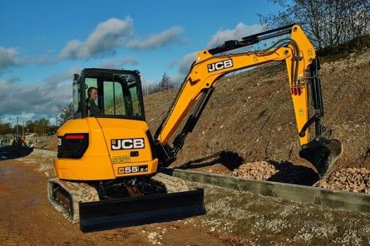 JCB 55Z-1 Mini Excavator 1