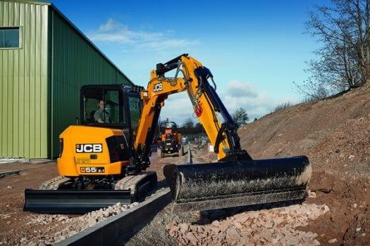 JCB 55Z-1 Mini Excavator 2