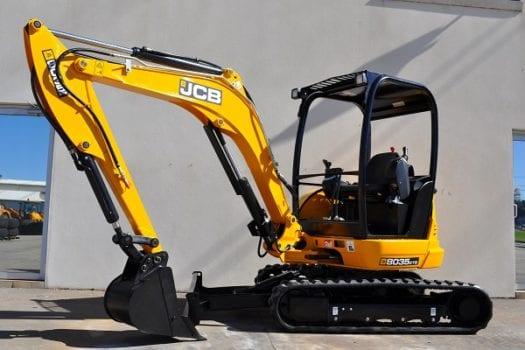 JCB 8035 Mini Excavator ZTS