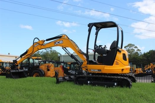JCB 8035 Mini Excavator ZTS Zero Tail Swing