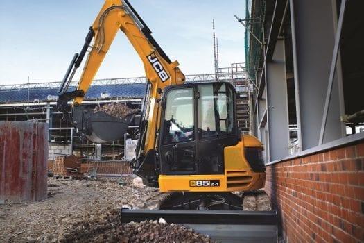 JCB 85Z-1 Mini Excavator 8 tonne 3