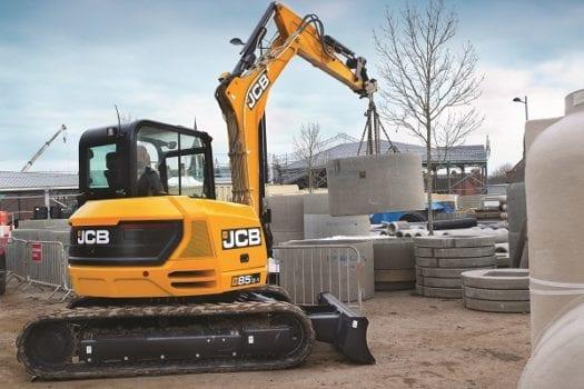 JCB 85Z-1 Mini Excavator 8 tonne 4