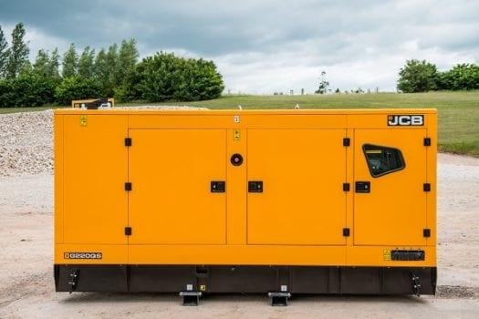 Hunter JCB 165-220 KVA Generator Range 3