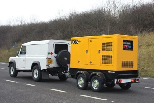 Hunter JCB Rental Generators 1