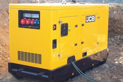 Hunter JCB Rental Generators 2