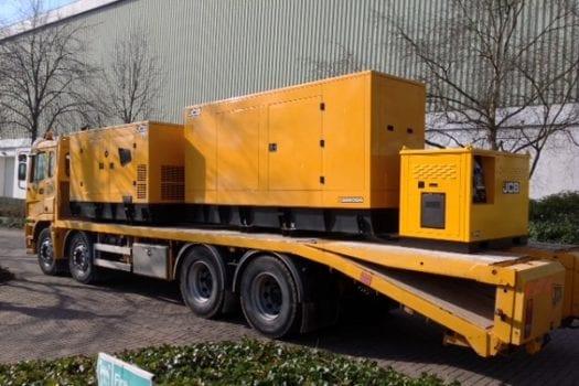Hunter JCB 165-220 KVA Generator Range 4