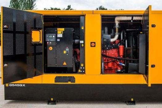 JCB Diesel Generator Scania 4