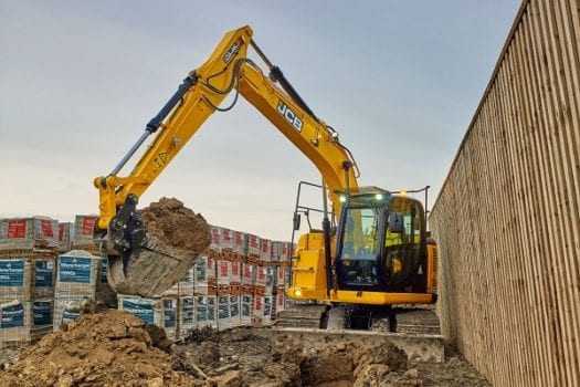JCB JZ140DLC Excavator ZTS