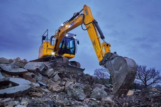 JCB JZ140DLC Excavator Zero Tail Swing