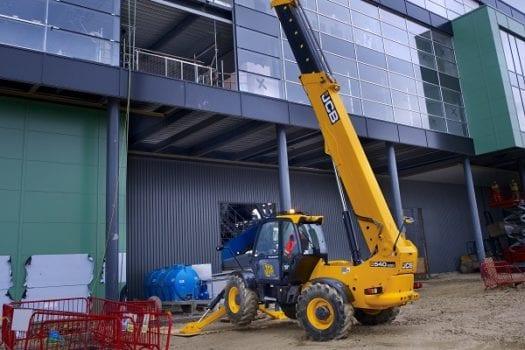 JCB 540-200 Telehandler - Hunter JCB | Excavators, Backhoes