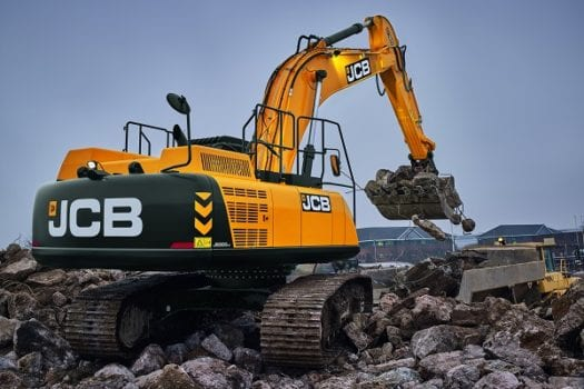 JCB JS 300LC Excavator 3
