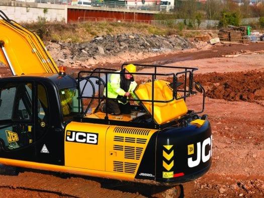JCB JS200LC Excavator 3