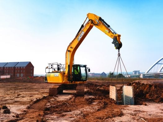 JCB JS200LC Excavator 4