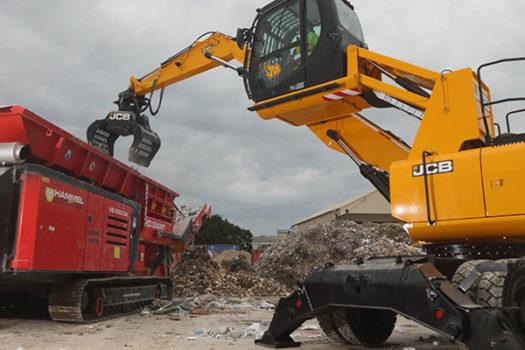 Hunter JCB JS20MH Wheeled Excavator 2