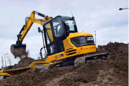 JCB 90Z-1 Mini Excavator 3