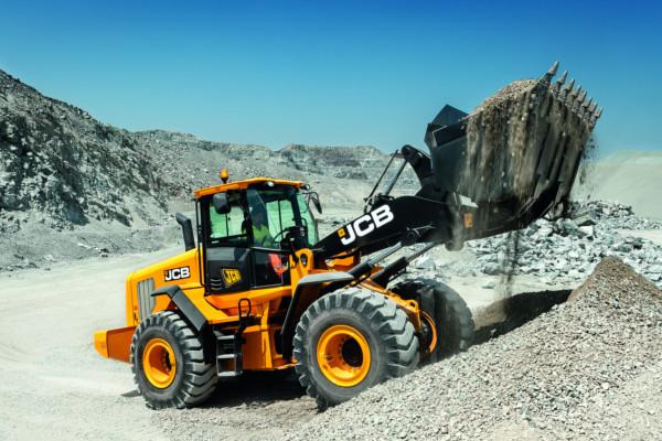 JCB 455 ZX Wheel Loader - Hunter JCB | Excavators, Backhoes