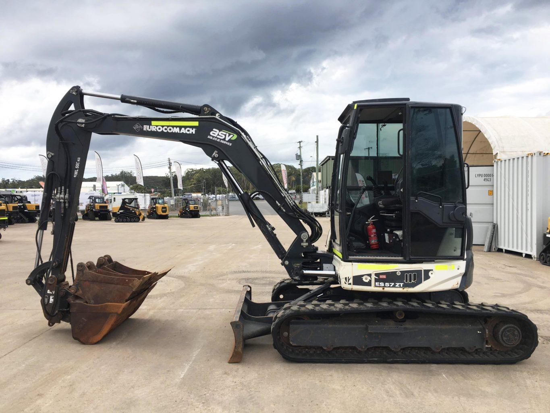 Eurocomach ES57ZT 5.5T Excavator