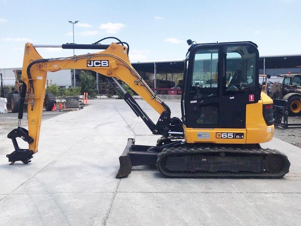 JCB 65R 6 Tonne Mini Excavator Used