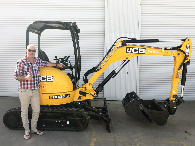 TTK Excavations 8025 JCB Mini Excavator